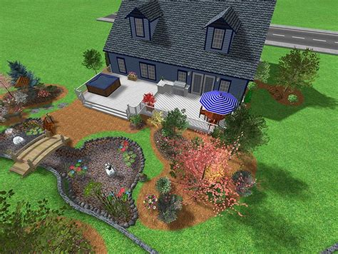 Backyard Design Program by Backyard Landscaping Ideas What Are The Different Types