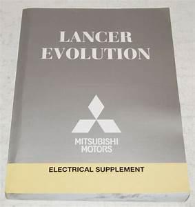 2013 Mitsubishi Lancer Evolution Factory Shop Electrical