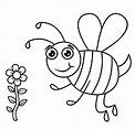 Obraz znaleziony dla: Pszczoła do Kolorowania