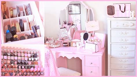 My Makeup Collection & Storage 2016  Princess Room Youtube