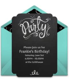 Online Invitations from Free party invitations Birthday
