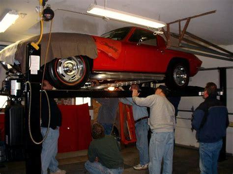 corvette  chevrolet engine removal