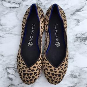 Rothys Size Chart Rothy S Shoes Rothys Flat Leopard Print Poshmark
