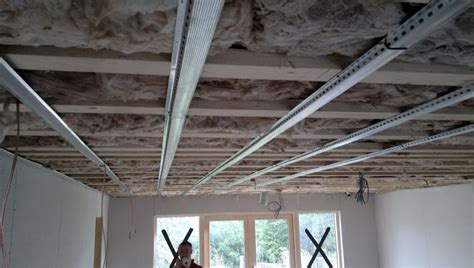 soundproofing a ceiling using resilient channels home