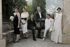 A stylish bride for Dries van noten wedding dress