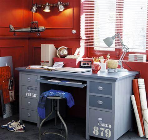 bureau cargo bureau chambre enfant modèle cargo maison du monde