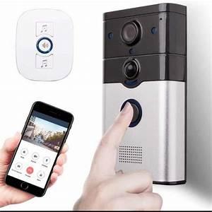 China Smart Home Wireless Doorbell Smart Video Wifi Door