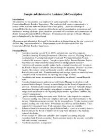 Executive Assistant Duties For Resume by Administrative Assistant Duties Resume Administrative