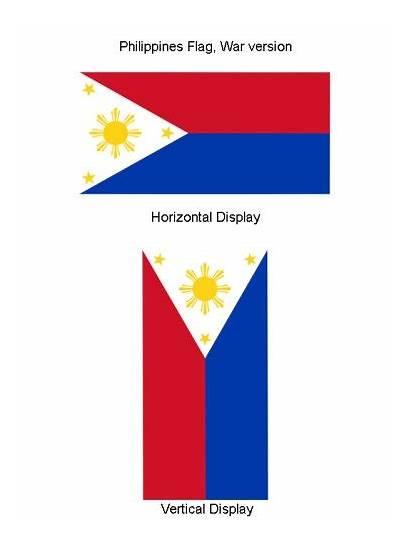 Philippines Flag War Flagline