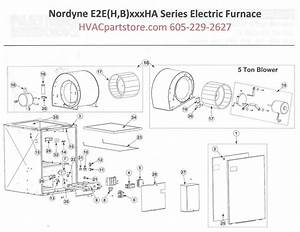 E2eb012ha Nordyne Electric Furnace Parts  U2013 Hvacpartstore