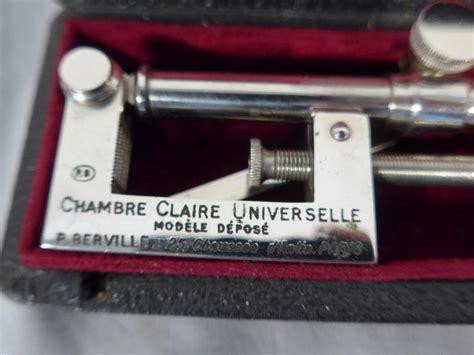 chambre universelle chambre universelle en acier chromé signé