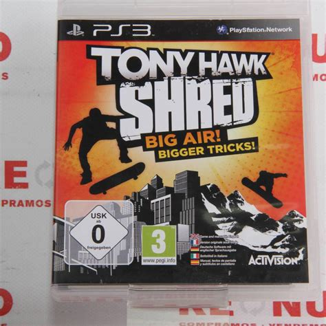 Videojuego Tony Hawk Shred Para Ps3 De Segunda Mano