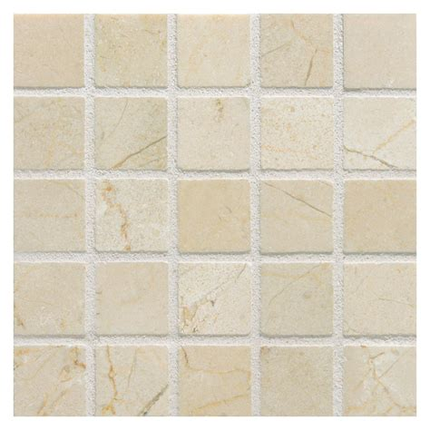 crema marfil mosaic tile marble mosaic tile 1 quot square crema marfil