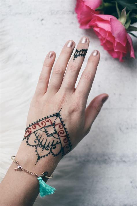 henna selber machen henna muster einfach anleitung henna selber machen inkl muster motive henna muster