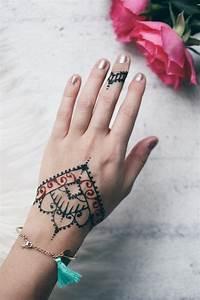 Henna Selber Machen : diy henna tattoo selber machen loveandfashion ~ Frokenaadalensverden.com Haus und Dekorationen