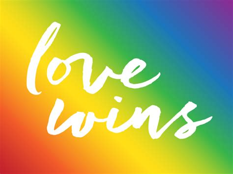 Love wins by Evan Thomas Cole on Dribbble