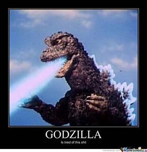 Godzilla by haaaaxman - Meme Center