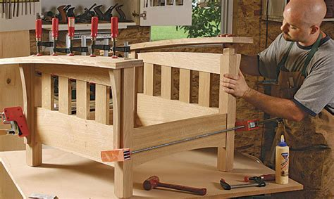 build  bow arm stickley morris chair finewoodworking