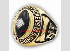 1962 Green Bay Packers Men's Football championship ring