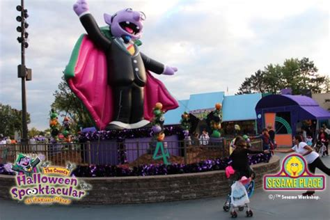Sesame Place Halloween Events by Holiday Events At Sesame Place Jersey Shore Vacations