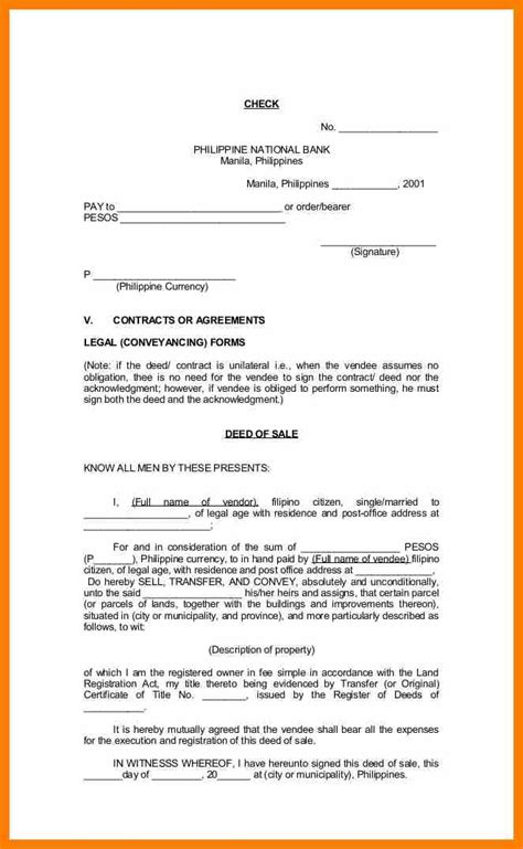 Deed Of Conveyance Template by Charming Deed Of Conveyance Template Photos Exle