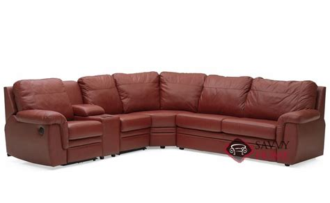 Reclining Sleeper Sofa by Brunswick By Palliser Leather Reclining True Sectional By