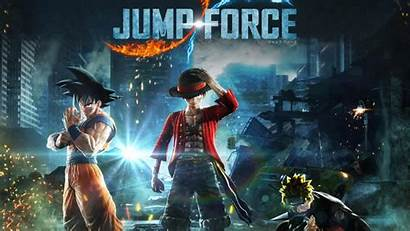 Jump Force Wallpapers Videogame Shonen Crossover