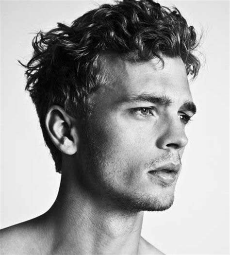 curly mens short nice hairstyles mens style