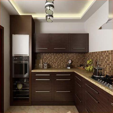 wooden indian kitchen cabinet rs  unit krishna pvc