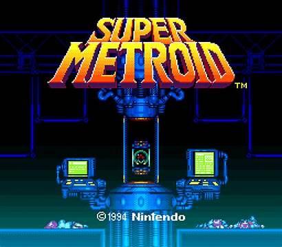 Title Screens Metroid Super Screen Games Amazing