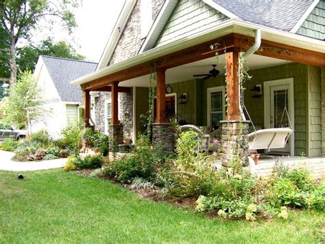 small ranch house plans with porch back porch designs ranch style homes decorating small