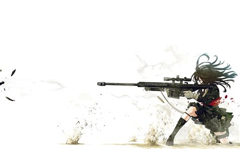 Anime Drawing Wallpaper - snipers wallpaper pencil and in color