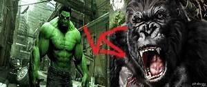 Image Gallery king kong vs hulk