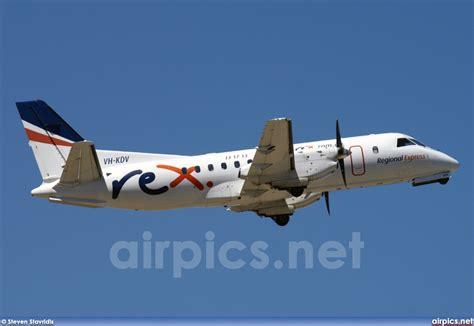 airpics.net - VH-KDV, Saab 340-B, Regional Express Airlines (REX) - Medium size