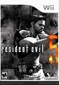 Resident Evil 5: Wii Edition Wii Box Art Cover by g-ram13