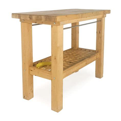 72% Off  Ikea Ikea Butcher's Block Table Tables