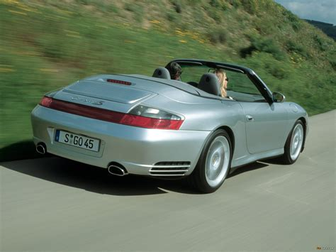 Porsche 911 Carrera 4s Cabriolet 996 200405 Photos