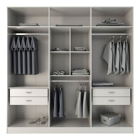 Open Kitchen Cupboard Ideas - europe white modern armoire wardrobe eurway modern