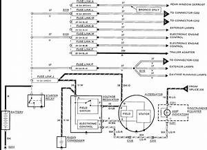 92 F350 Alternator Diagram