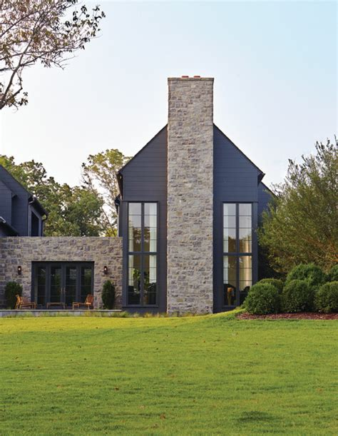 nashville residence transitional exterior by marvin