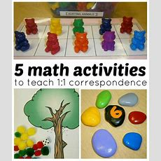Math Activities For Preschoolers 1to1 Correspondence {funaday!}  Preschool, Math And Math