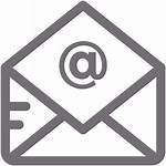 Email Icon Gray Reply Reading Cancel Leave