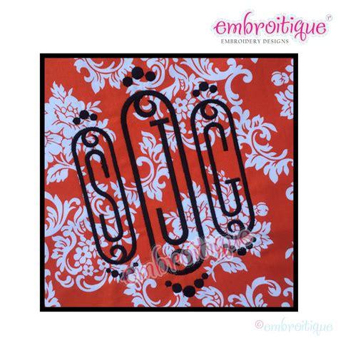 year created  cameo decorative initial monogram set small    sizes