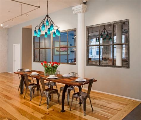 17 Great Dining Room Design Ideas For A Warm Industrial
