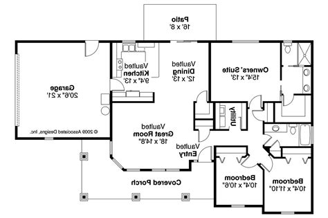Bungalow House Plans  Strathmore 30638  Associated Designs