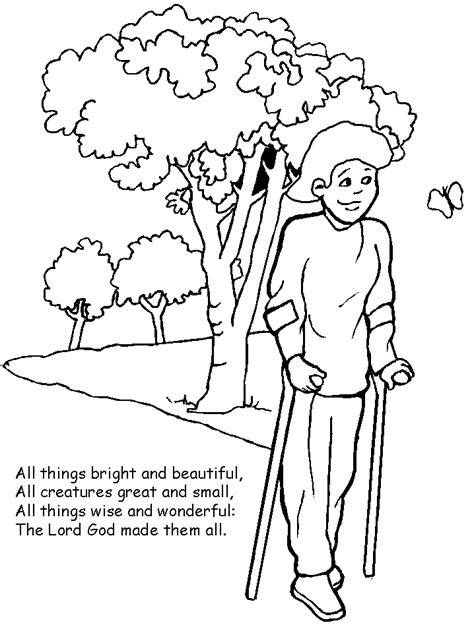 Coloring Foto by Disabilities 4 Coloring Pages Coloring Page Book