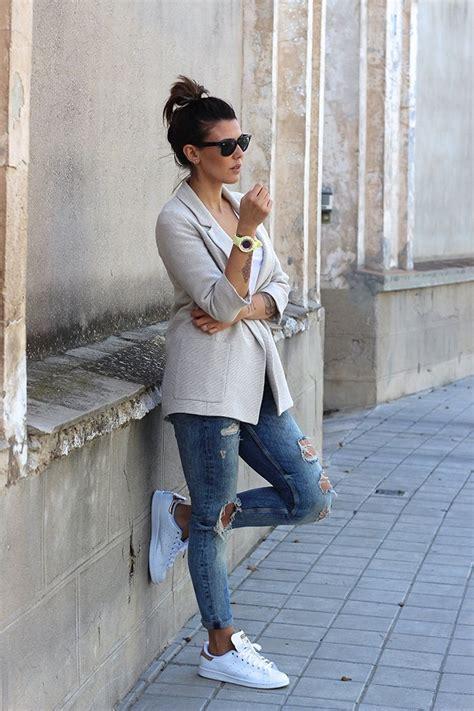 1001 id 233 es comment porter des stan smith chaque jour mode femme mode tenue