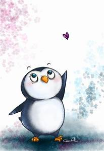 Cute penguin drawing! :D | Penguin drawing, Cute penguins ...