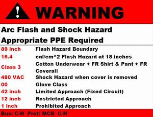 insulated tools labels arc flash ppe With arc flash hazard label