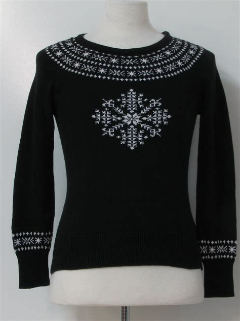 womens ugly christmas ski sweater tommy hilfiger womens